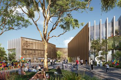 Preliminary design of the Coomera Civic Hub.
