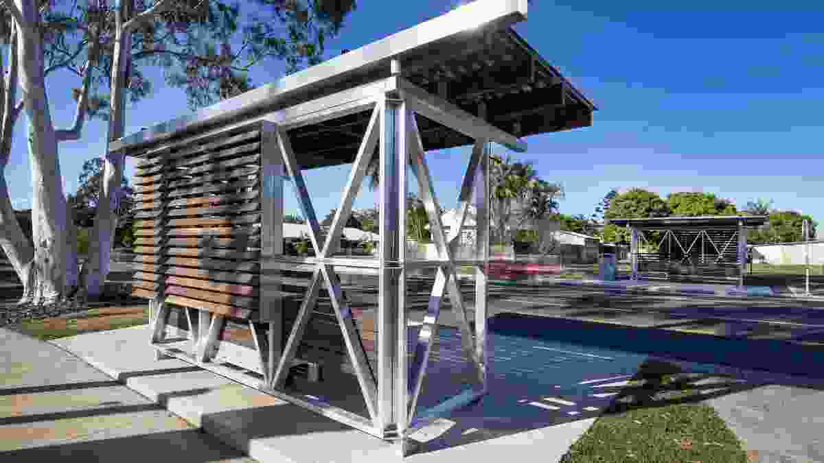 Noosa Coastal Bus Shelter by Majstorovic Architecture.