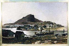 Castle Hill  by Edward Bevan, 1866.