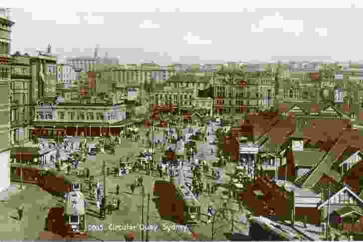 Circular Quay, Sydney, from Public Sydney: Drawing the City.