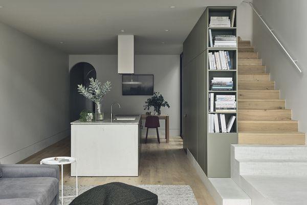 由Lande Architects设计的South Yarra House。