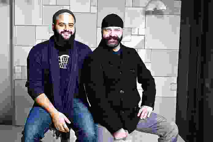 Anthony Raymond and Gregory Bonasera of Porcelain Bear.
