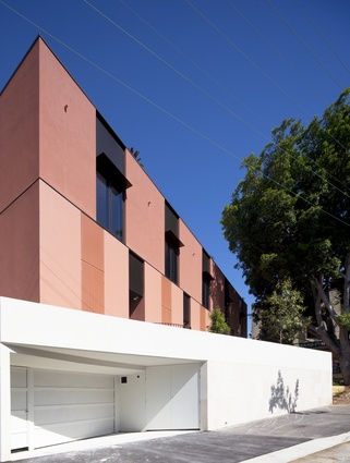 Cowper Street Housing by Andrew Burns Architect (A–B).