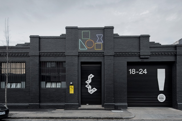 """To arrive at Artbank, the visitor is taken on a """"quintessentially Melbourne experience"""" of negotiating back lanes."""