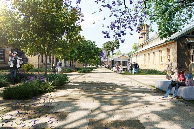The state government plan to develop the area incorporates the refurbishment of convict-era heritage buildings.