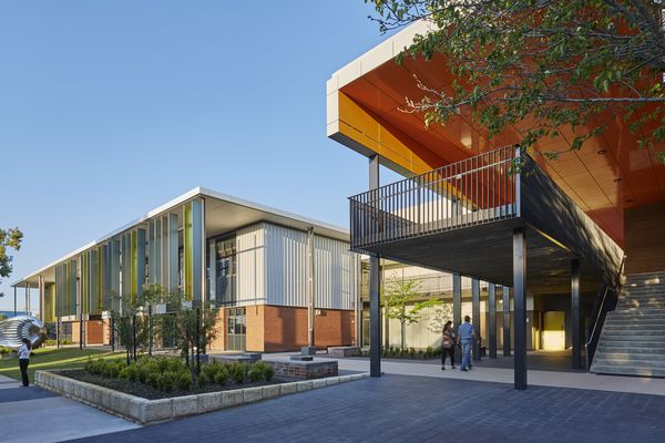 Willetton Senior High School by Hassell.