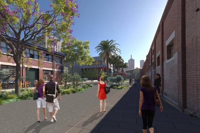 The proposed development of Dodd Street.