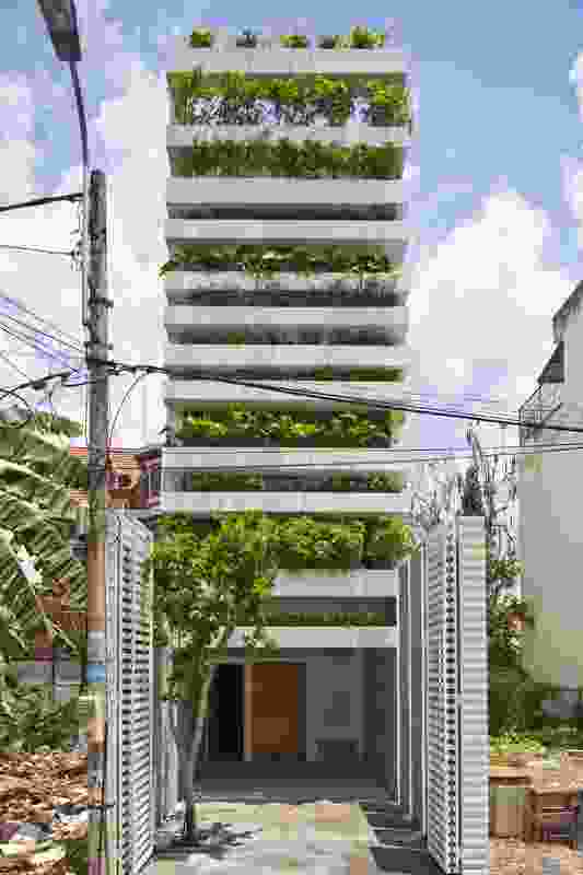 Stacking Green in Ho Chi Minh City, Vietnam (2011).