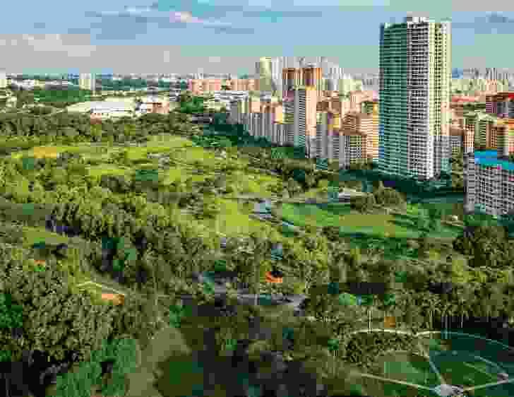 Bishan-Ang Mo Kio Park in Singapore, designed by Ramboll Studio Dreiseitl.