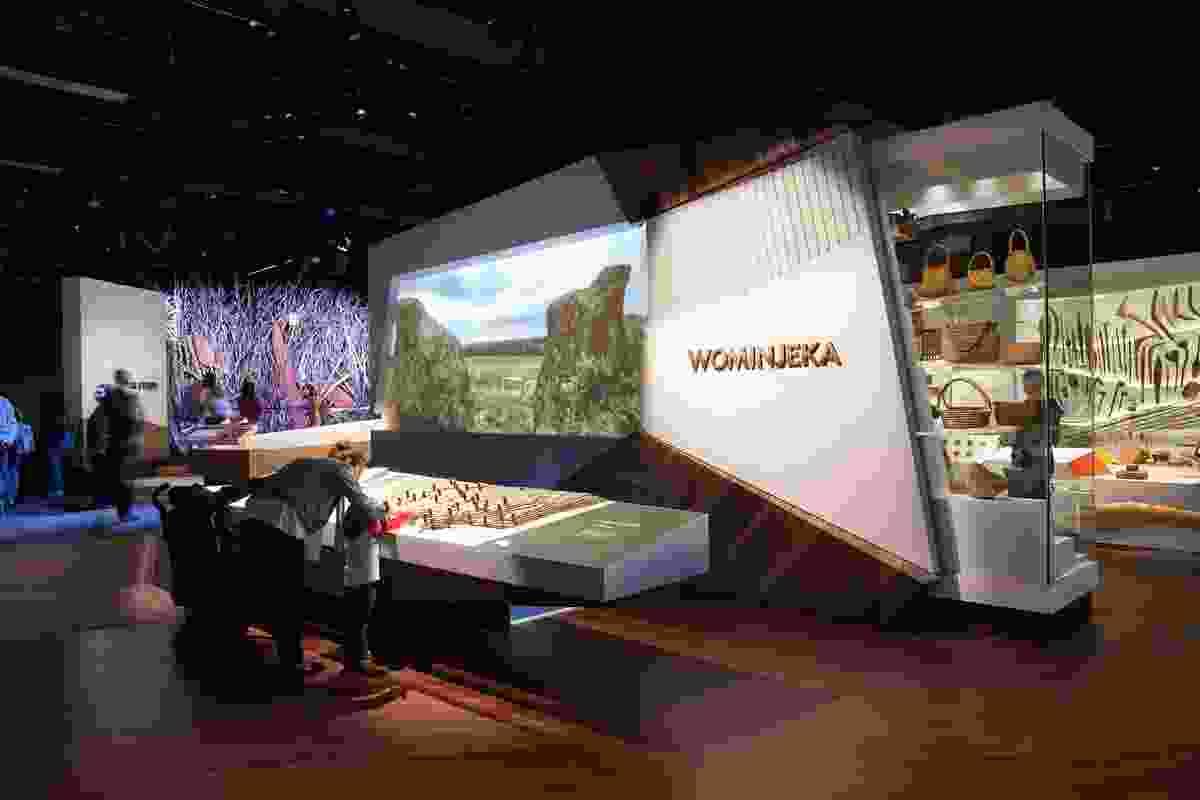 First Peoples Exhibition, Bunjilaka Aboriginal Cultural Centre Museum Victoria by Museum Victoria Design Studio.