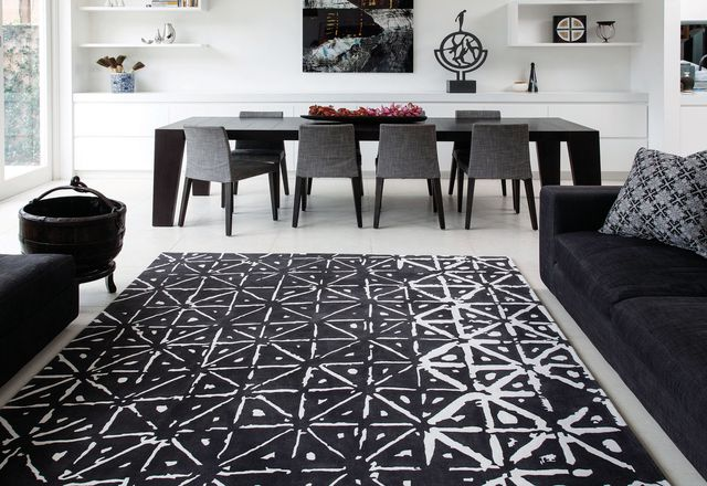 Batik, part of the Hirameki rug collection by Akira Isogawa for Designer Rugs.