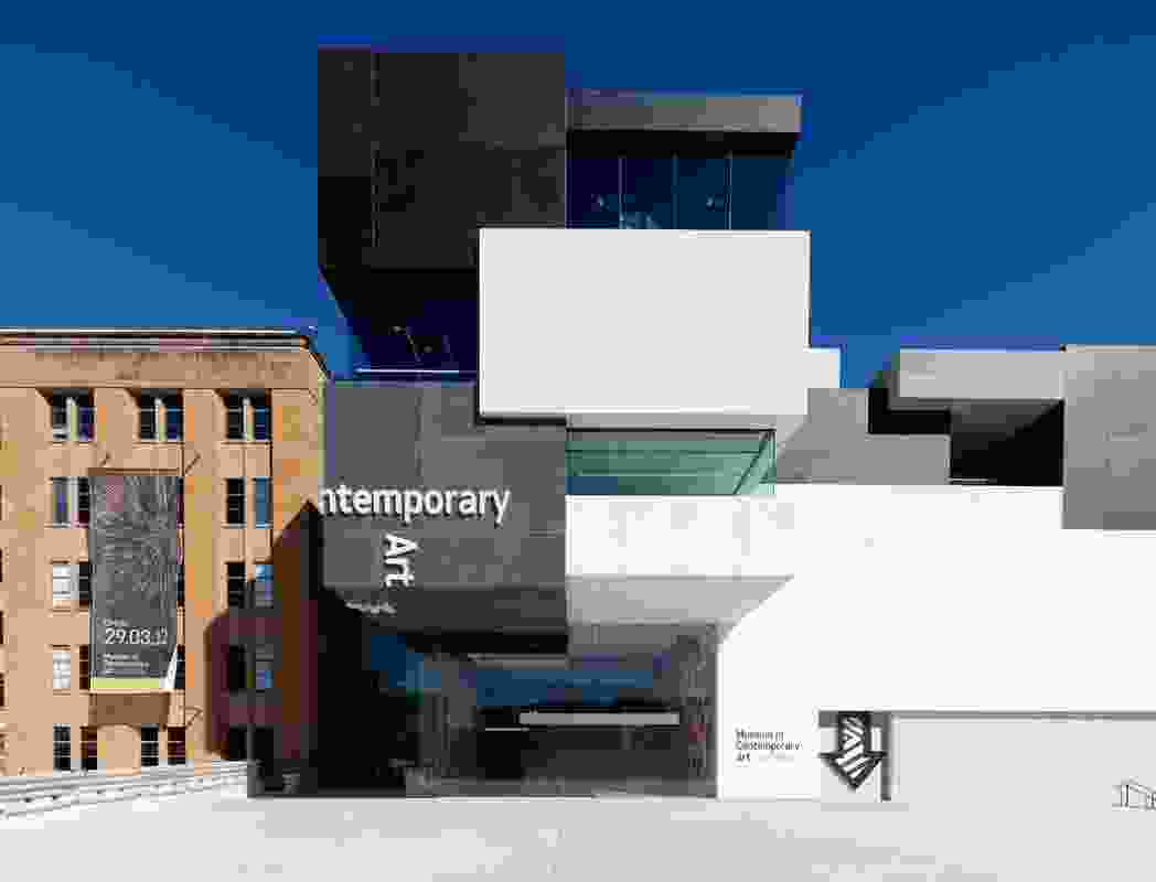 Museum of Contemporary Art Redevelopment by Architect Marshall in association with the Government Architect's Office.