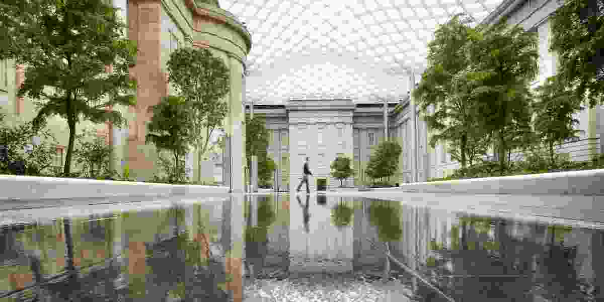 GGN designed the Robert and Arlene Kogod Courtyard at the Smithsonian American Art Museum and National Portrait Gallery in Washington, DC.