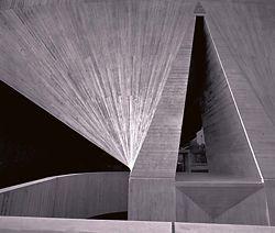 Australian Embassy, Paris, 1978. Architect Harry Seidler.