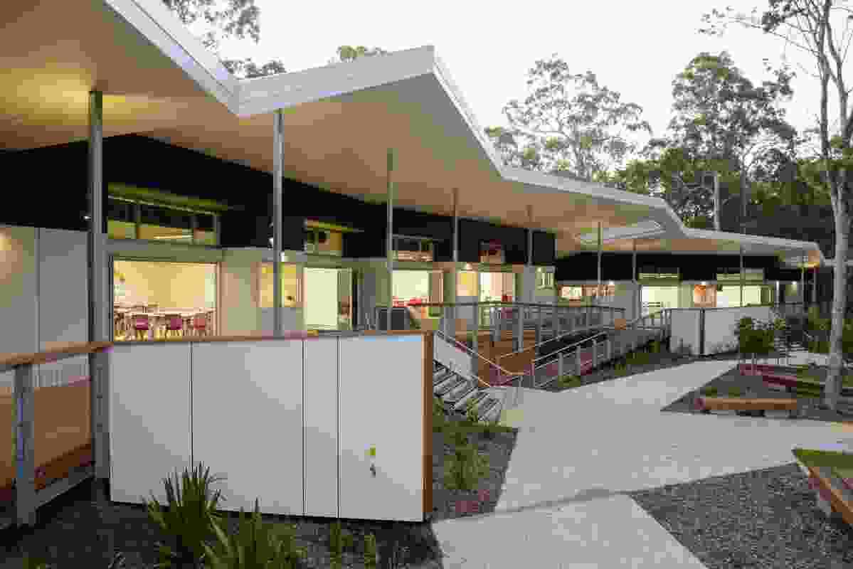Kimberley College Year 7 Flying Start Project by Guymer Bailey Architects.