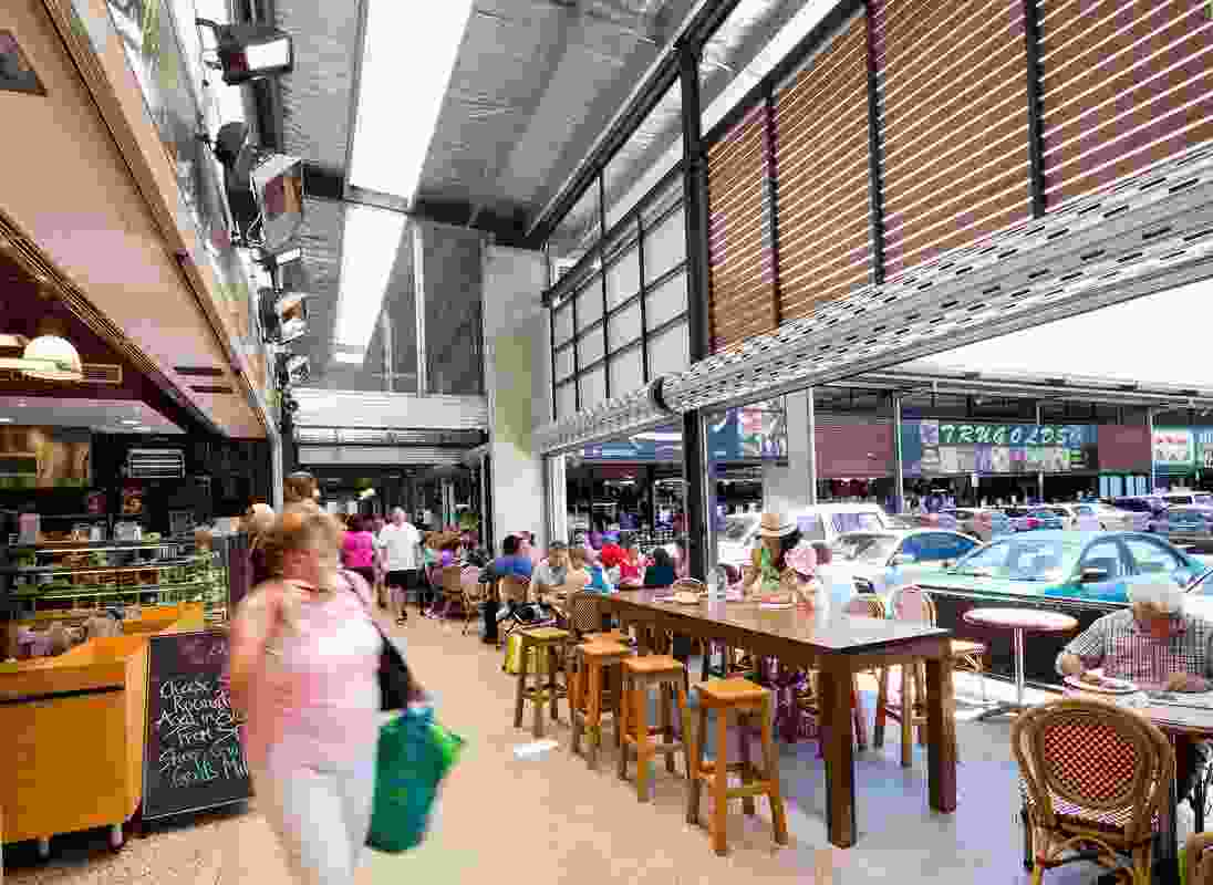 Fyshwick Markets by Colin Stewart Architects.