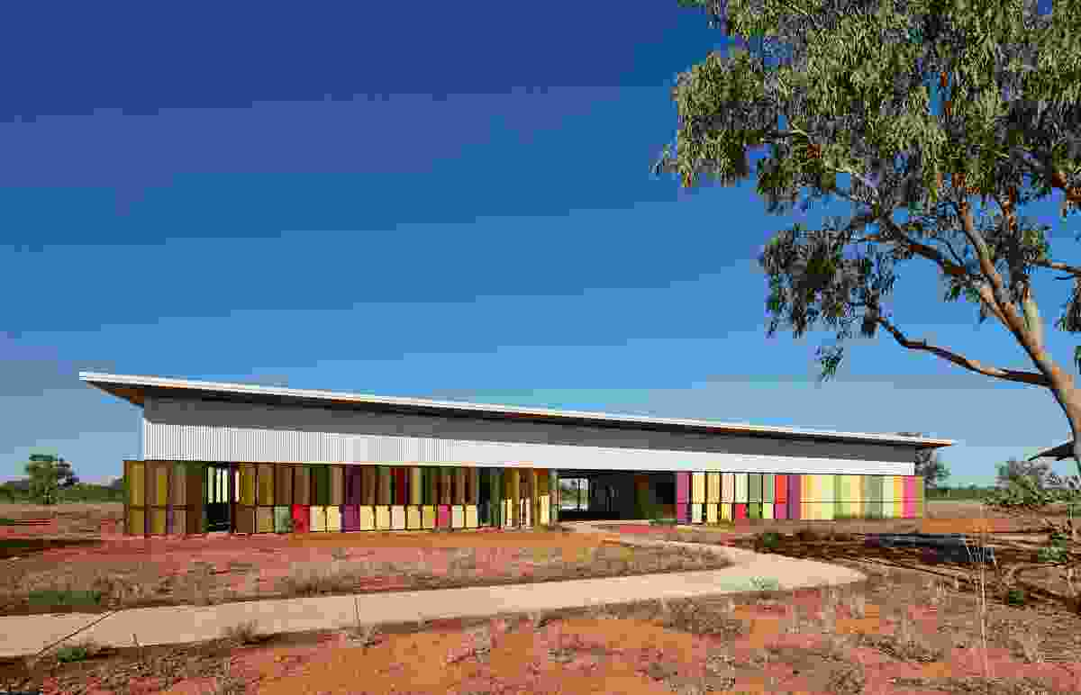 Fitzroy Crossing Renal Hostel by Iredale Pedersen Hook Architects.