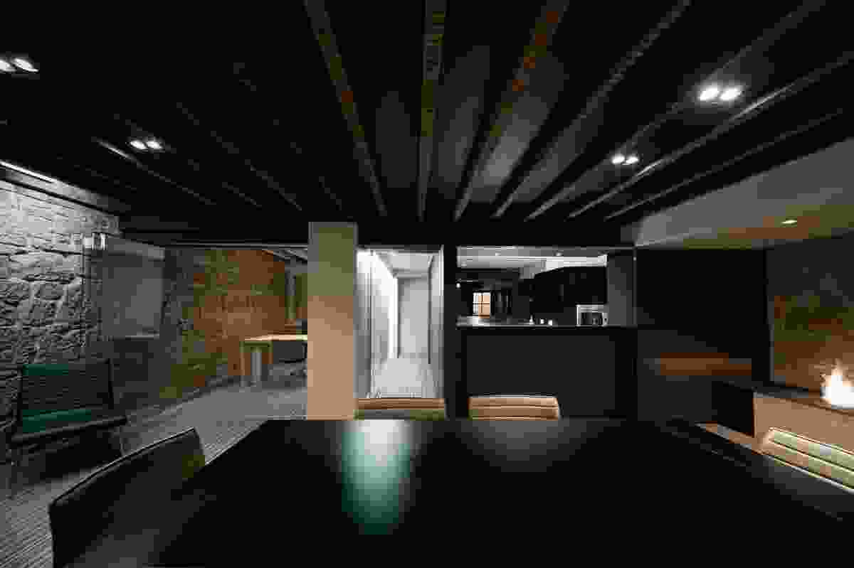 Basement by Preston Lane Architects.