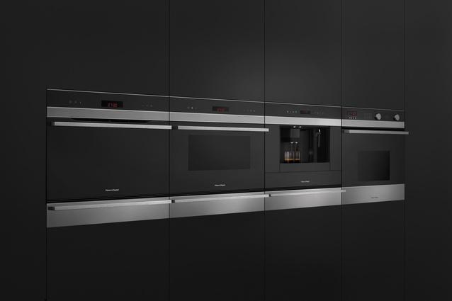 The Companion Range integrates a steam oven, convection oven, espresso maker and microwave.