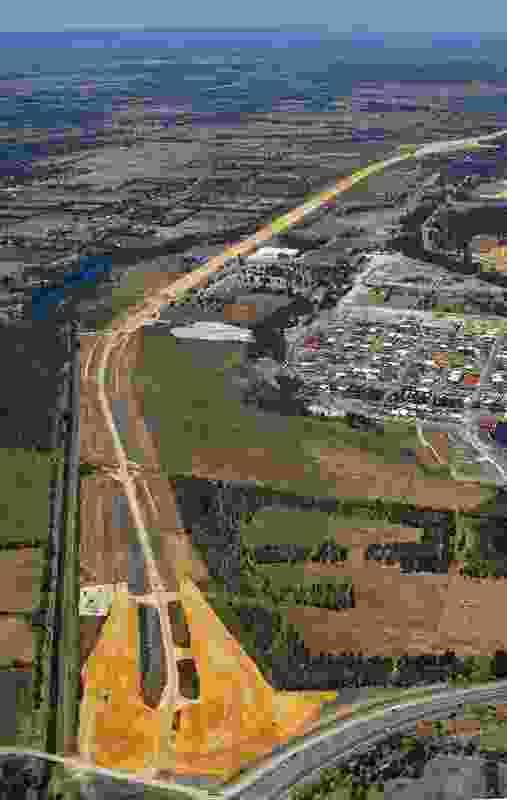 New Perth to Bunbury Highway (under construction) by Urbis.