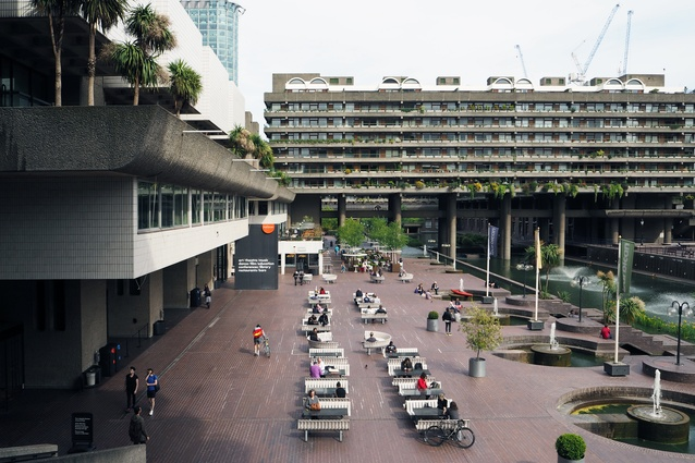 Communal space at the Barbican Estate is extensive, with amenities such as an arts centre, music school and restaurants.