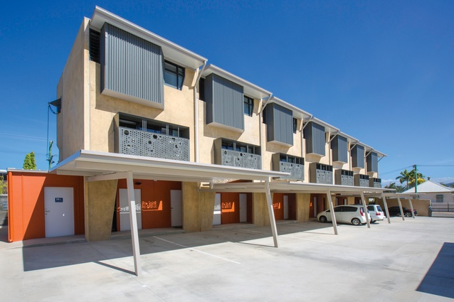 Use of prefabricated concrete panels created a substantial upfront cost saving as well as low maintenance costs.