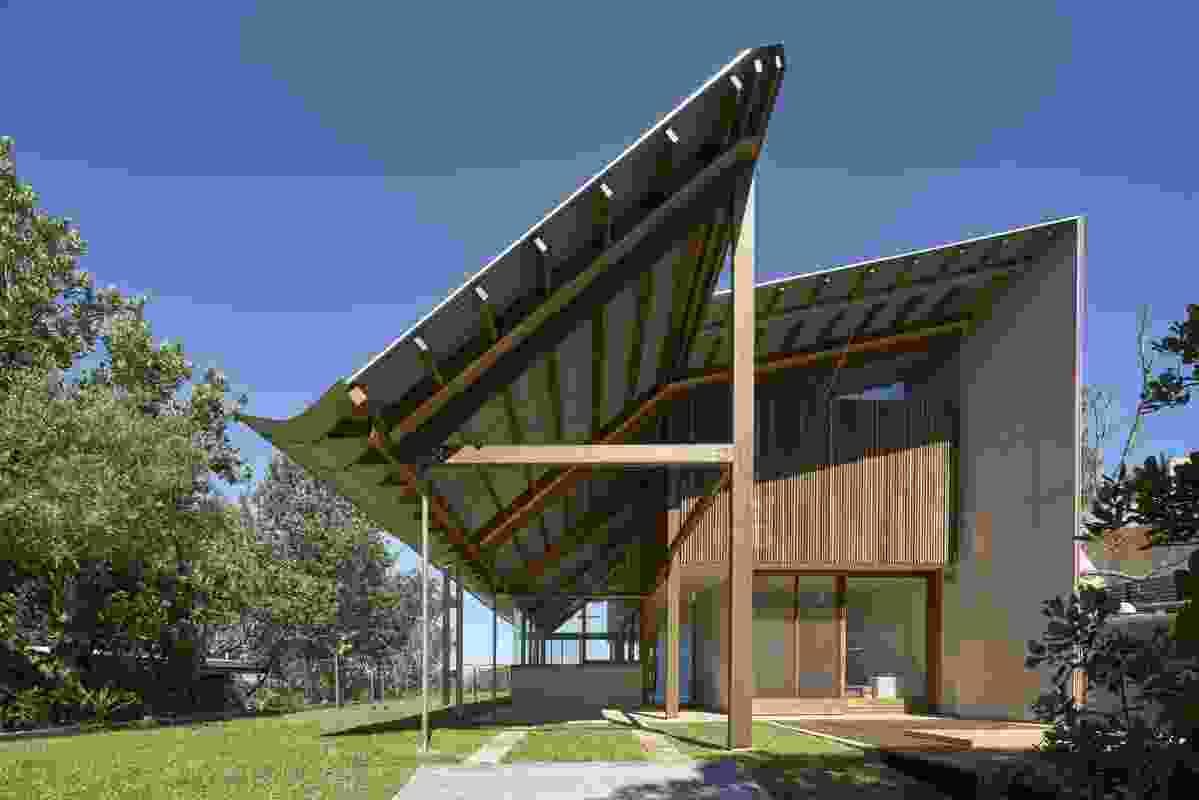 Foredune House by Peter Stutchbury Architecture.