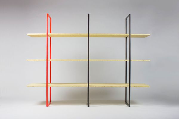 Allen shelving unit from Savage Design.