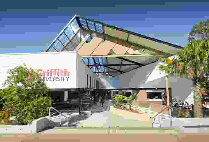 Griffith University Student Guild Uni Bar and Link Refurbishment by Push.