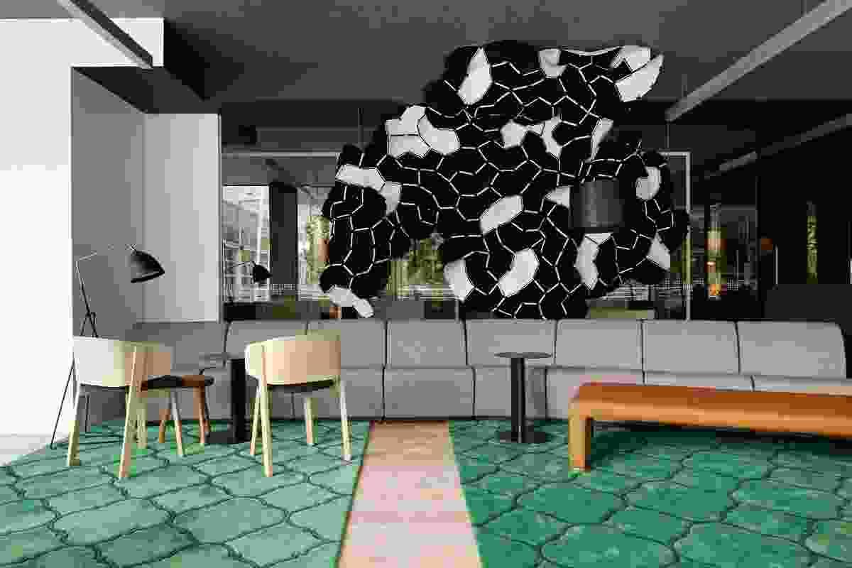 Latrobe University Library Lounge – Darren Carnell Architects.