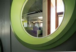 A porthole to the