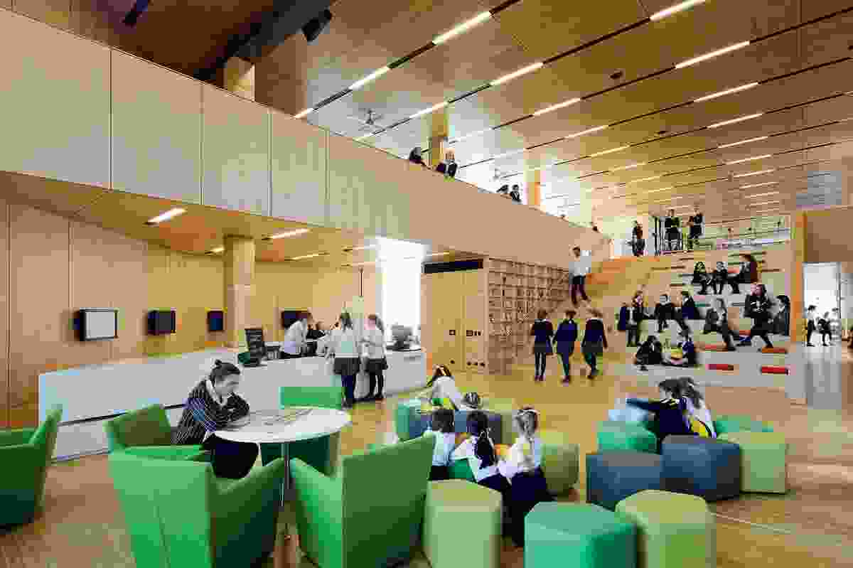 Public Architecture Award – Ravenswood School for Girls by BVN Architecture.