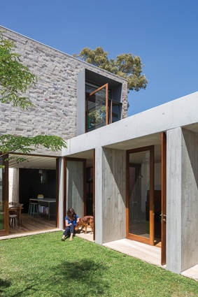 Aileen Sage Architects. Pictured is Courtyard House (NSW).