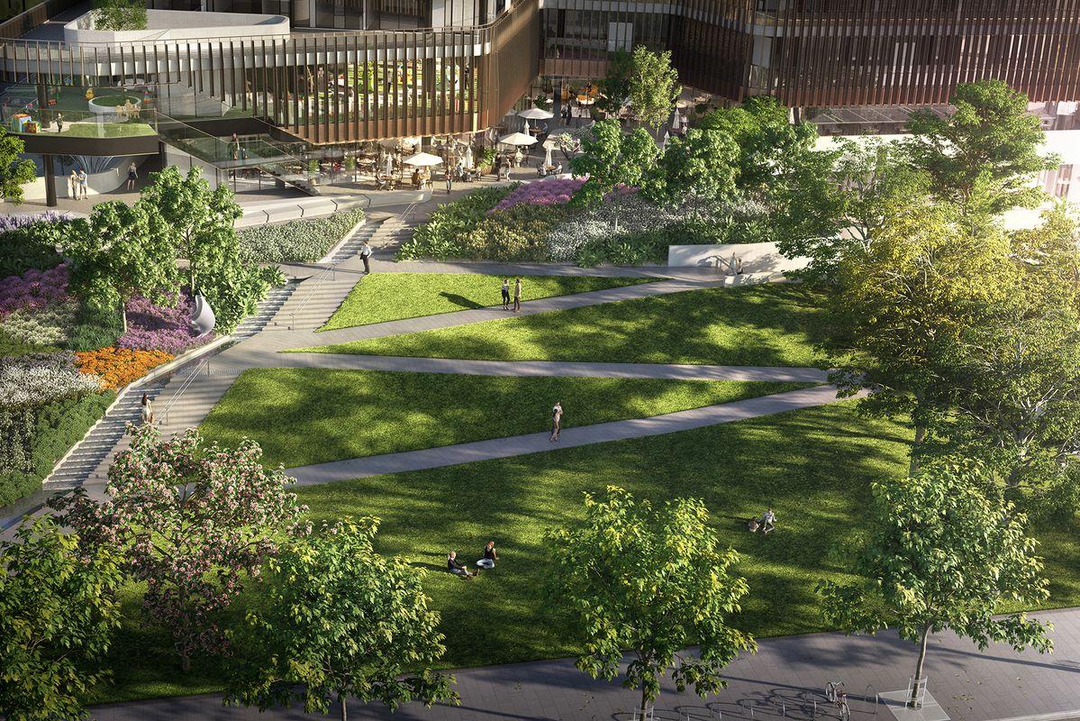 Designs for Melbourne Square public park released ...