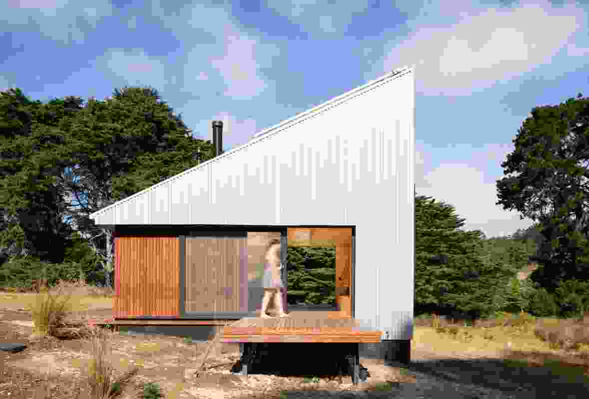Bruny Island Hideaway (Tas) by Maguire and Devine Architects.