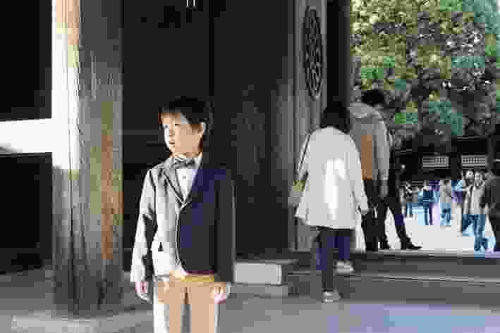 Entry to Meiji Shrine, Shibuya.