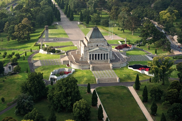 Shrine of Remembrance – Galleries of Remembrance (Vic) by ARM Architecture.