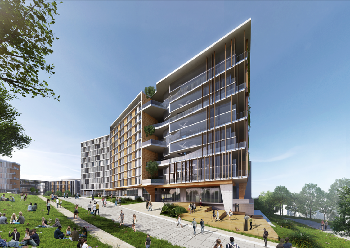 University of Queensland Student Accommodation by Nettletontribe.
