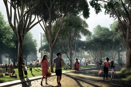 Expanded parkland to reclaim road and car park at Melbourne Metro Tunnel station