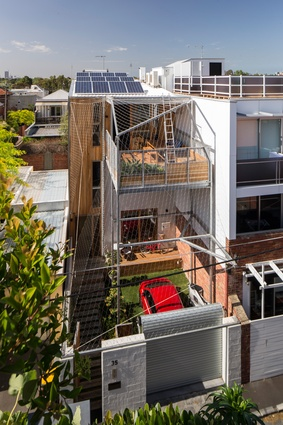 Emerald Hill House by Fiona Winzar Architects.