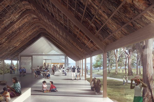 Kamay Botany Bay National Park, Kurnell masterplan by Neeson Murcutt Architects and Sue Barnsley Design.