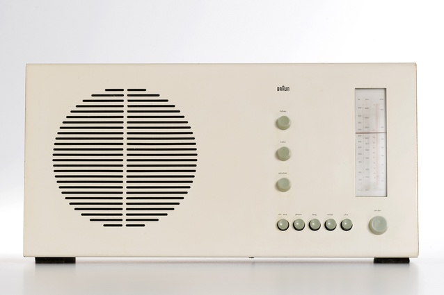 RT20 radio (1961), designed by Dieter Rams, made by Braun AG, Germany.