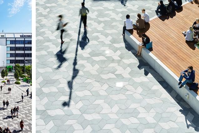 UTS Alumni Green (NSW) by ASPECT Studios.