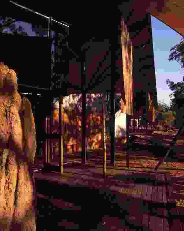 Bowali Visitor Centre, Kakadu by Troppo Architects in association with Glenn Murcutt.