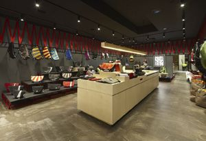 Retail Design Institute 2011 first prize recipient – Crumpler, Doncaster by Ryan Russell of Russell & George.