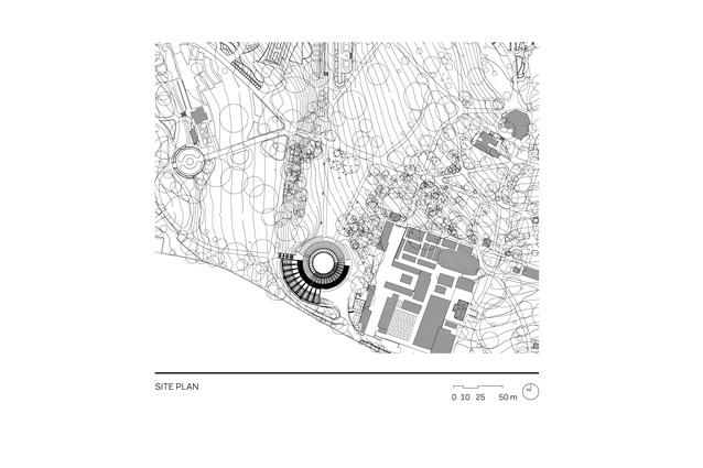 Calyx site plan.