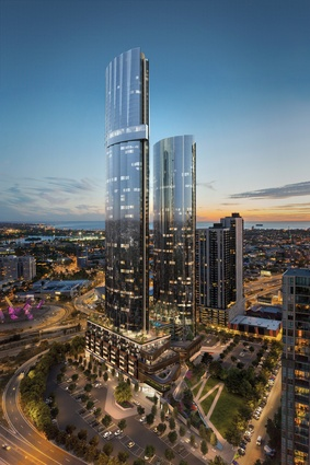 Melbourne Square by Cox Architecture.