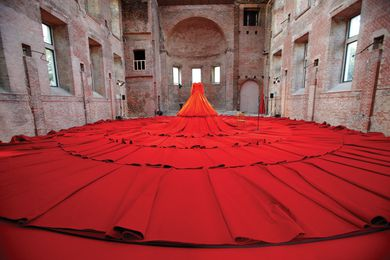 London Design Festival: Reddress by Aamu Song (Company), the Finnish Institute in London.