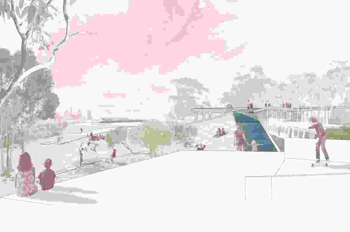 A Performative Landscape (Vic) by Schored Projects.