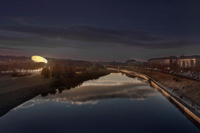 Smar's competition winning design for Lithuania's National Science and Innovation Centre.